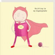 Rosie Made a Thing 'Knitting Superpower' Card